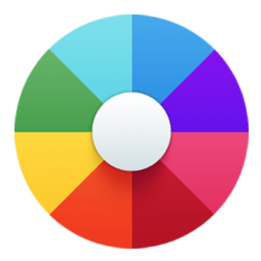 Color control image.