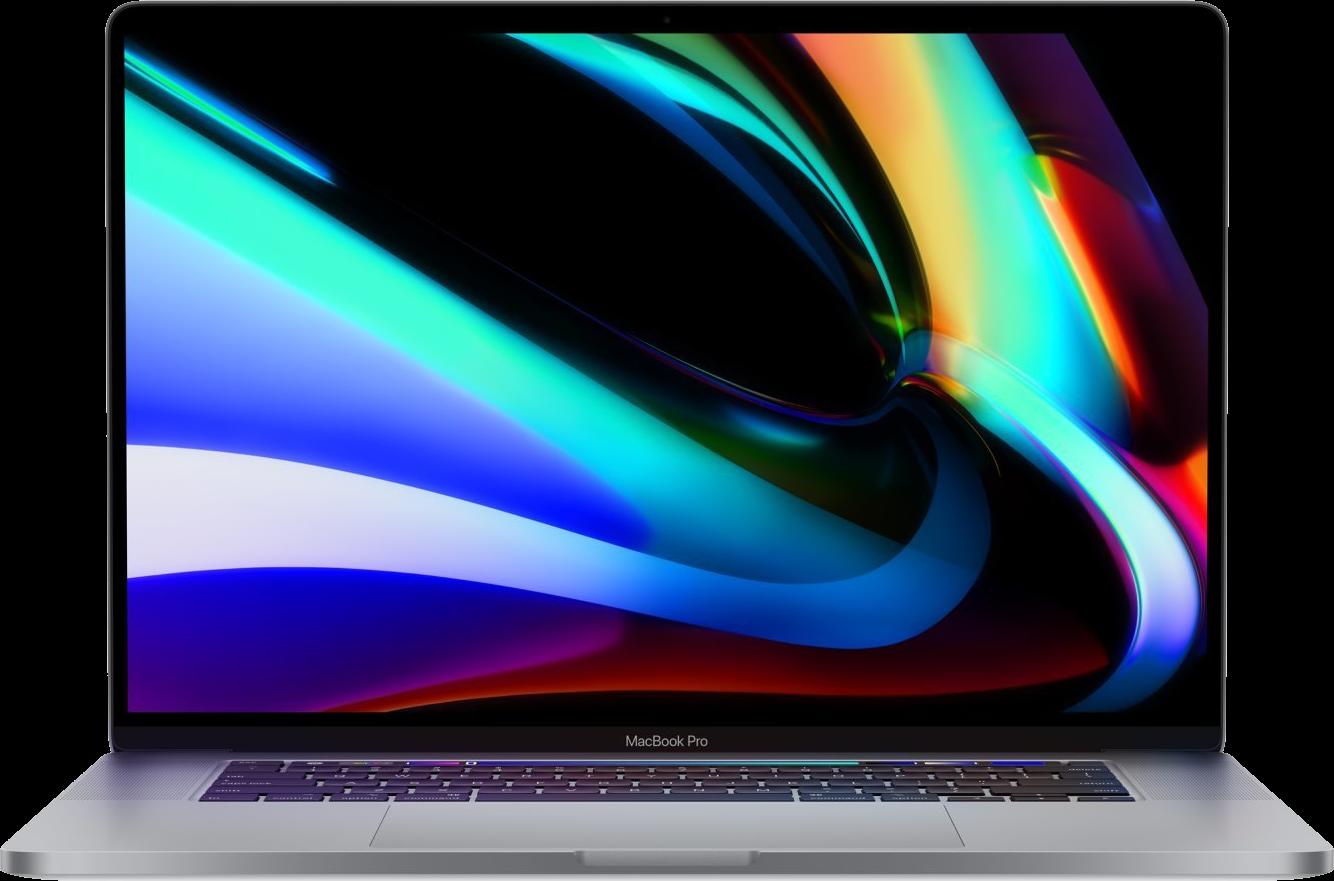 MacBook Pro 16 image.