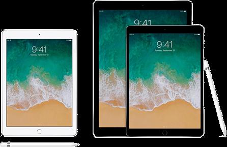 Table iPad image.